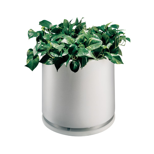 Commercial Zone Round Pot Planter with Water Dish