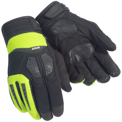 Cortech DXR Womens Gloves Black/Hi Viz