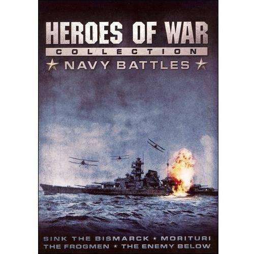 Heroes Of War Collection: Navy Battles - The Frogmen / Sink The Bismark / Morituri / The Enemy Below (Widescreen)