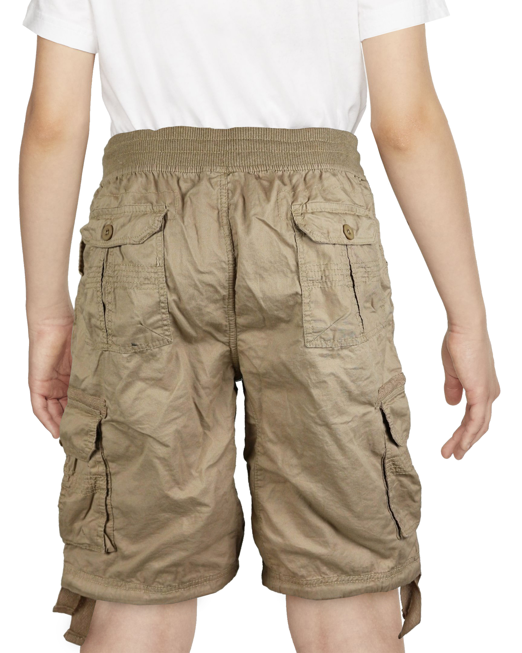 30 Day Guarantee Smash for Toddler and Boys 4-14 100/% Cotton Cargo Shorts