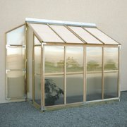 Sunshine Lean To 4 x 8 Foot Greenhouse