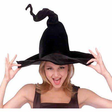 Witch Hat Adult Halloween Accessory