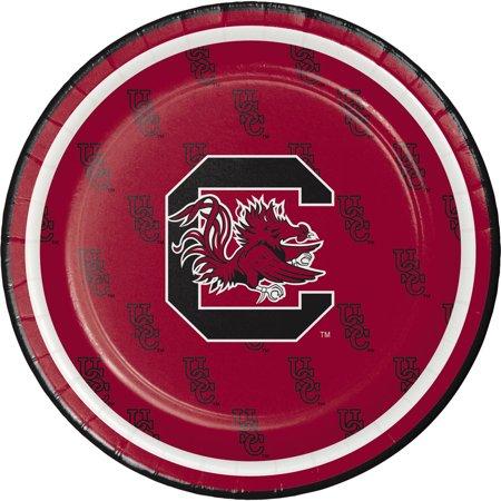 University of South Carolina Dessert Plates, 8pk