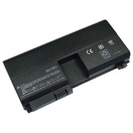 Laptop Battery Pros Replacement Battery for HP Pavilion TX1000, TX2000, Black