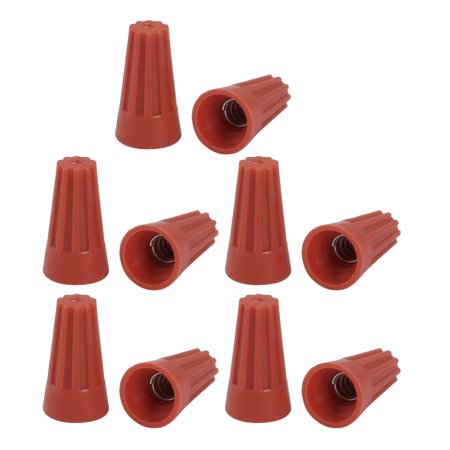 Nut 73b Wire Connector - 10pcs P1 Electric Wire Connector Screw Terminal Cap Insert Twist Nuts Orange Red