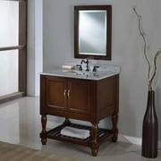 Direct Vanity Sink Mission Turnleg Spa 32S10 32 in. Single Bathroom Vanity