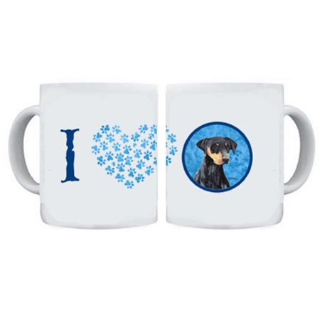 Doberman Dishwasher Safe Microwavable Ceramic Coffee Mug 15