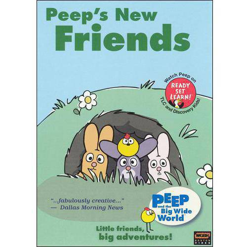 Peep And The Big Wide World: Peeps New Friends
