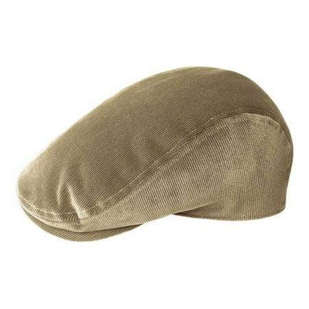 Men's Kangol Cord Flat Cap - Element Wool Hat
