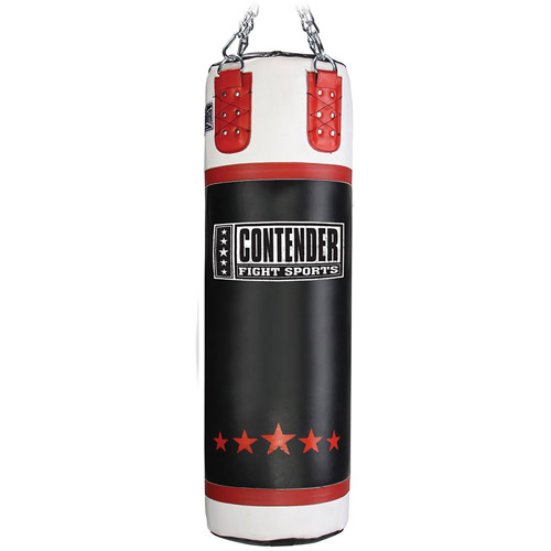 Contender Fight Sports Leather Heavy Bag, 100 lbs