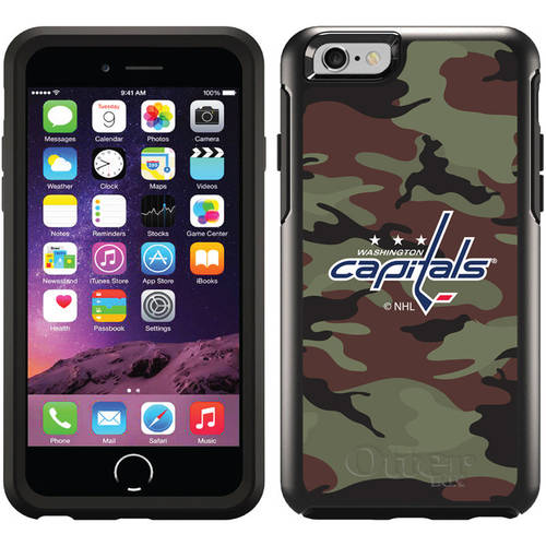 Washington Capitals Traditional Camo Design on OtterBox Symmetry Series Case for Apple iPhone 6