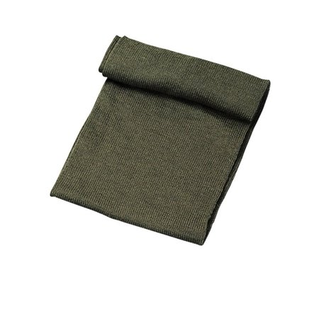 G.I. Olive Drab Wool Scarf, One
