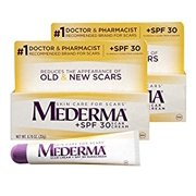 Mederma Scar Cream + SPF 30 Sunscreen, 0.7 Ounce, Pack of 2