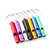 2x Dog Training Whistle Pet Training Puppy Safety Keyring Ring Chain