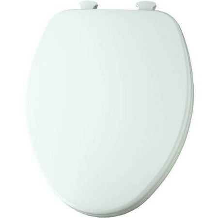 Sedona Beige Elongated Toilet Seat - Church 585EC Lift-Off Wood Elongated Toilet Seat, Available in Various Colors