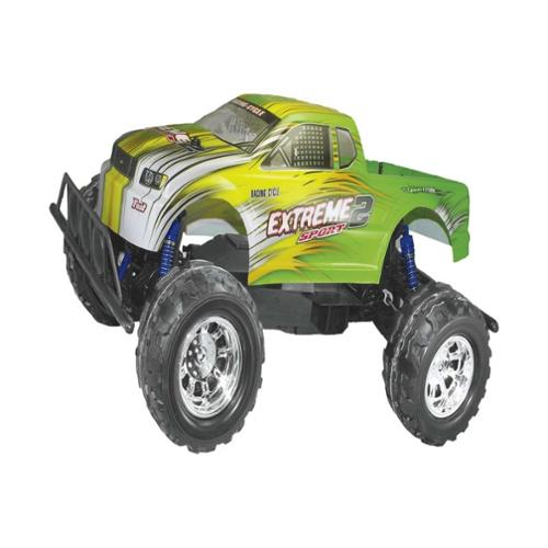 """20"""" RC 4WD Big Wheely Monster Truck 1/8 Scale RTR Radio Control Car High Speed Vehicle Toy - Green"""