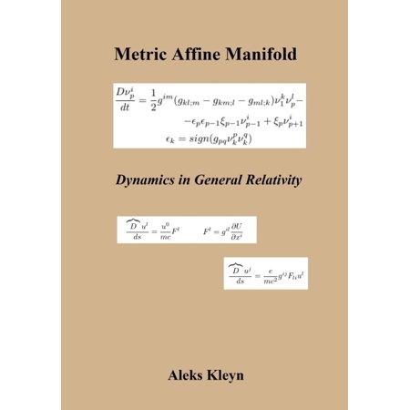 Metric Affine Manifold  Dynamics In General Relativity