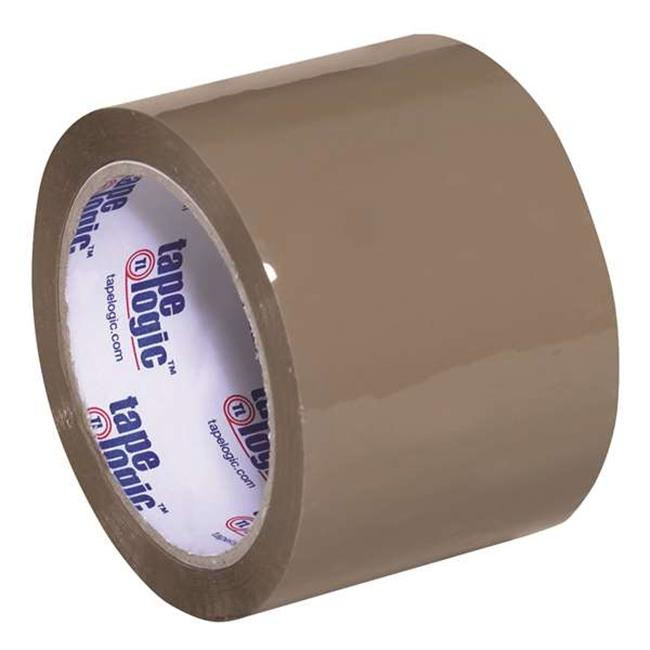 Tape Logic T905291T6PK 3 in. x 55 yards Tan No.291 Industrial Tape - Pack of 6