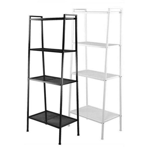 Joyful Widen 4 Tiers Bookshelf For Kids Bookcase Storage Rack Toy Display Bedroom Shelf White