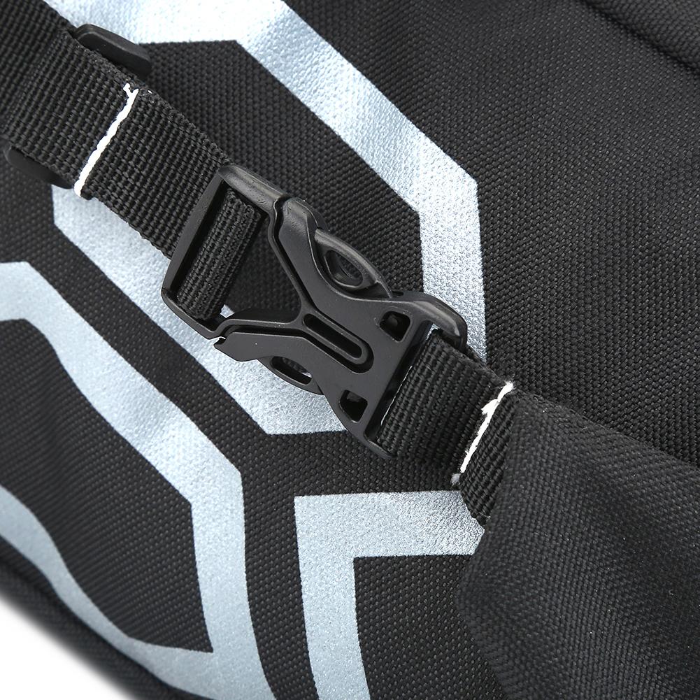 B-SOUL Sacoche de selle de v/élo 12L grande capacit/é pour sac de selle de v/élo pour l/équitation noir