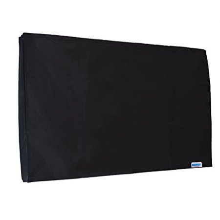 comp bind technology black tv cover for sunbrite sb-s-65-4k 65'' hdtv. outdoor waterproof and heavy duty cover, fits tv with wall mount, maximize tv life by comp bind technology 58.5'w x 3.6''d x 34'h Falling Water Wall Mount