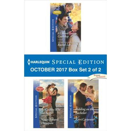 Harlequin Special Edition October 2017 Box Set 2 of 2 -