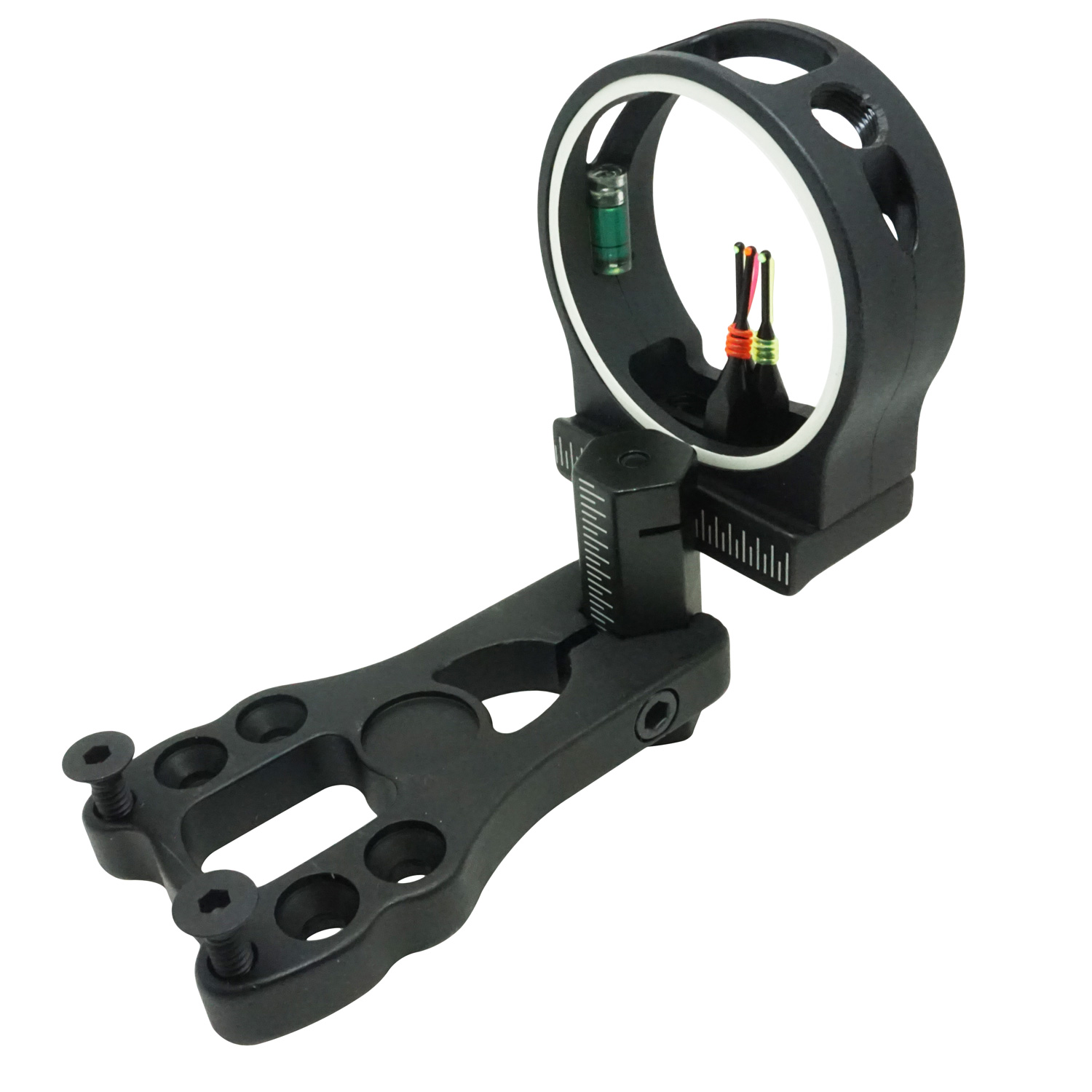"Safari Choice Archery 3-Pin Fiber Optic 0.029"" Bow Sight, Black"