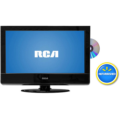 "RCA  22"" LCD 1080p 60Hz HDTV and DVD Combo, 22LA45RQD,Refurbished"
