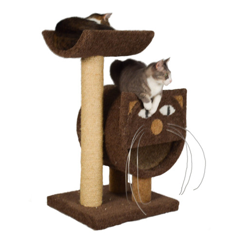 Molly and Friends 37'' The 2-Tier Cat Condo