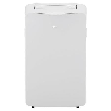 500 Base Unit - LG 14,000 BTU 115V Portable Air Conditioner with Wi-Fi Control, White