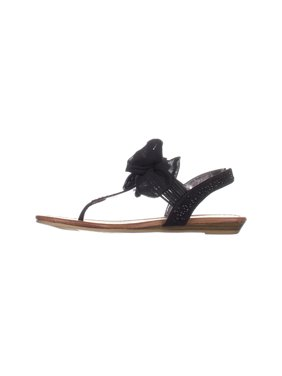 14e00b7bea4d Product Image Material Girl Womens Swan1 Open Toe Special Occasion Slingback  Sandals