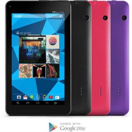 Refurbished Ematic EGD172PN Dual-Core with Android 4.4, Kit Kat and Google Play 7-Inch 8 GB Tablet