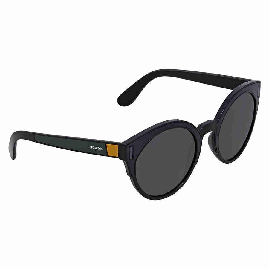 35248d94f60 ... italy prada grey cat eye sunglasses pr 03us 07e5s0 53 e40ac 11f7b