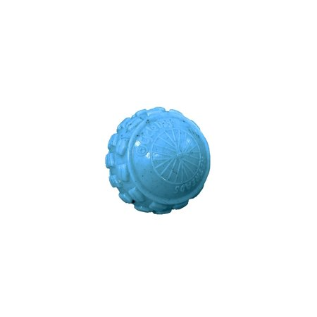 Cycle Dog High Roller Ball Dog Toy, Ecolast Post Consumer Recycled Material, Medium, Blue