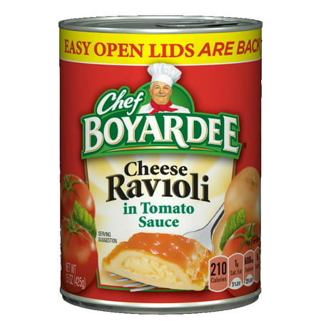Chef Boyardee Cheese Ravioli In Tomato Sauce 15 Oz