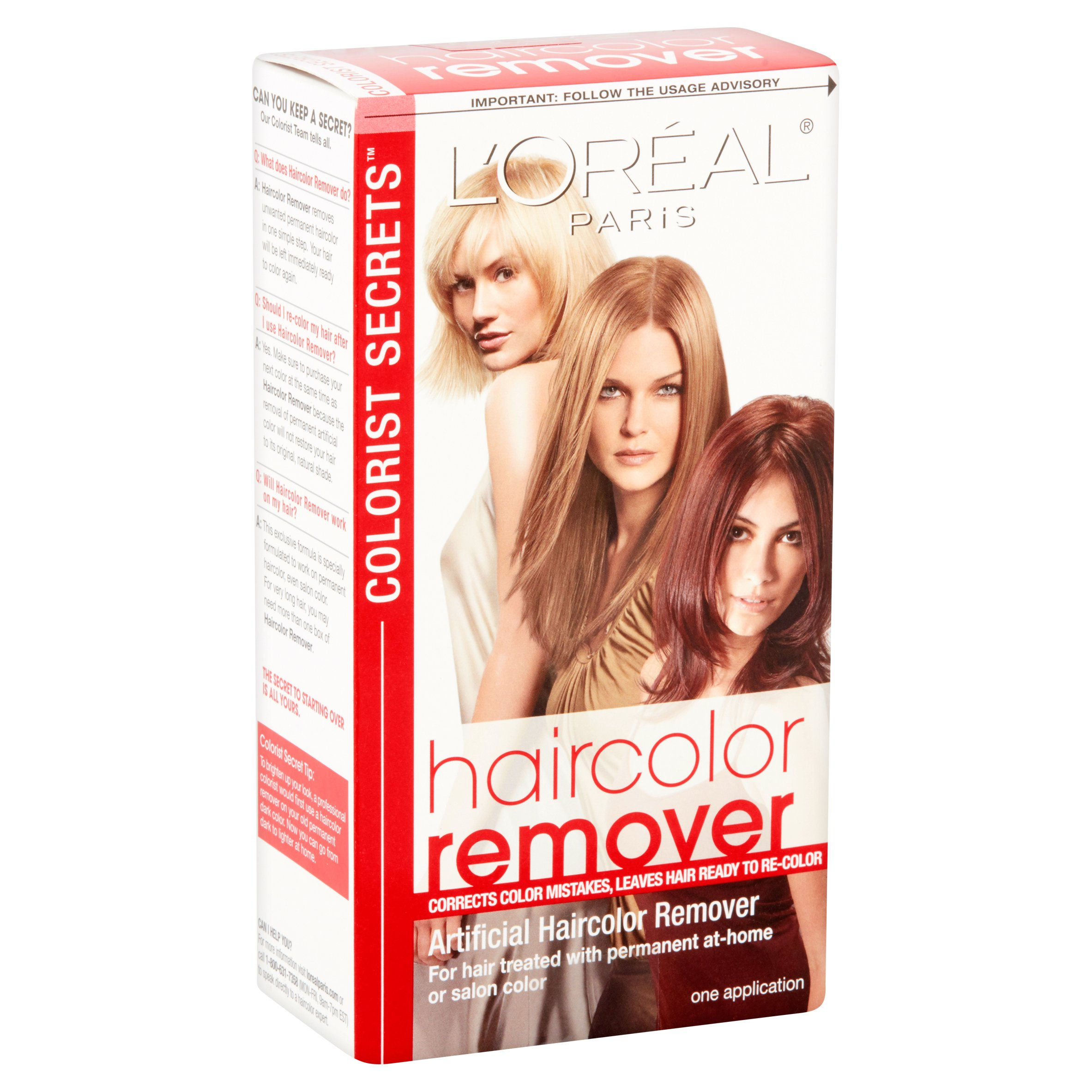 Loreal paris colorist secrets haircolor remover walmart solutioingenieria Choice Image