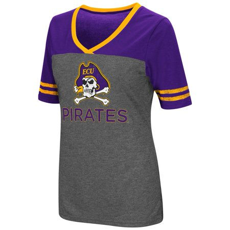Ladies Colosseum Mctwist ECU East Carolina University Jersey T (Fanmats East Carolina University)