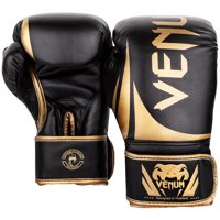 Venum Challenger 2.0 Hook and Loop Training Boxing Gloves - 16 oz. - Black/Gold