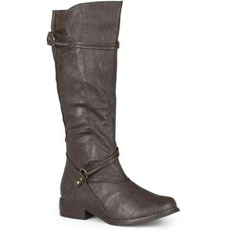 Brinley Co. Women's Buckle Accent Tall Boots ()