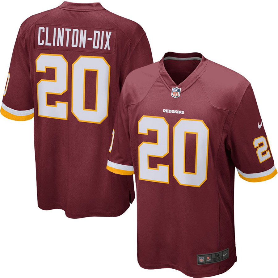 Ha Ha Clinton-Dix Washington Redskins Nike Game Jersey - Burgundy