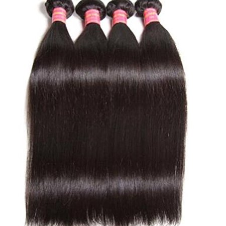 1 bundle, Brazilian Straight Virgin Hair 100% Human, Double Wefted, Unprocessed (16) - image 1 of 1