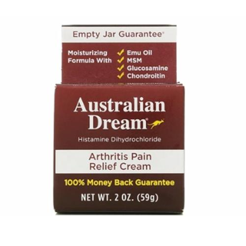 Australian Dream Arthritis Pain Relief Cream, 2 oz (Pack of 4)