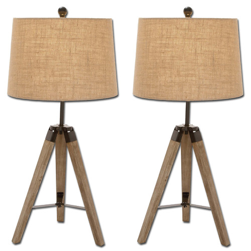 Urban Designs Weathered 31'' Table Lamp Set (Set of 2)