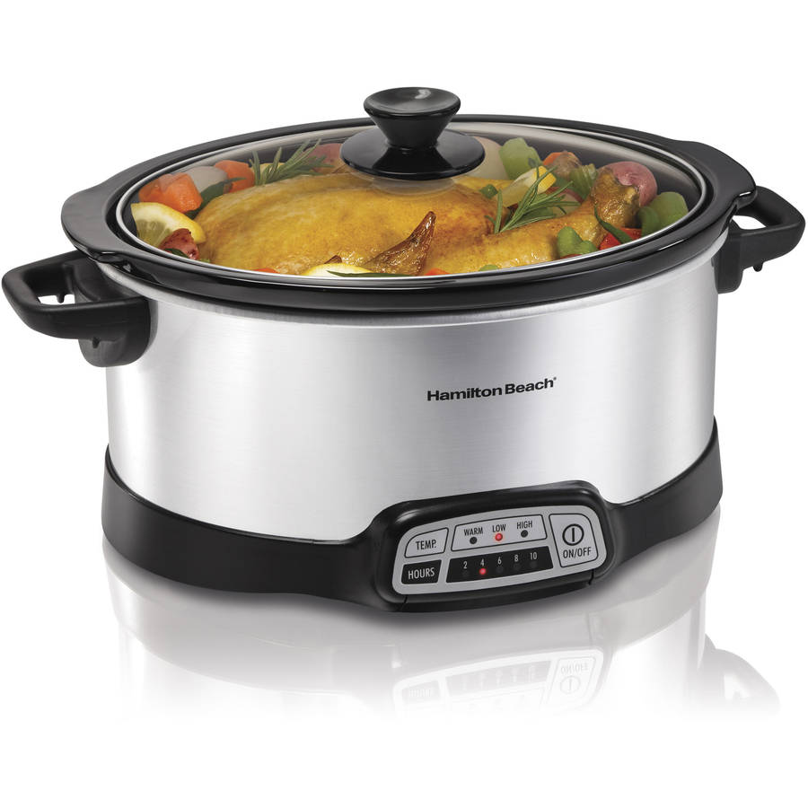 Hamilton Beach 7 Quart Countertop Programmable Slow Cooker | Model# 33473