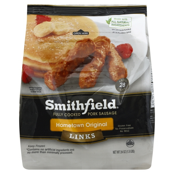 Smithfield Sausage Original Links
