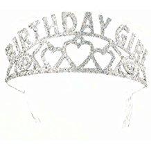 Cp Sparkling Glitter Tiara Birthday Girl (Mommy To Be Tiara)