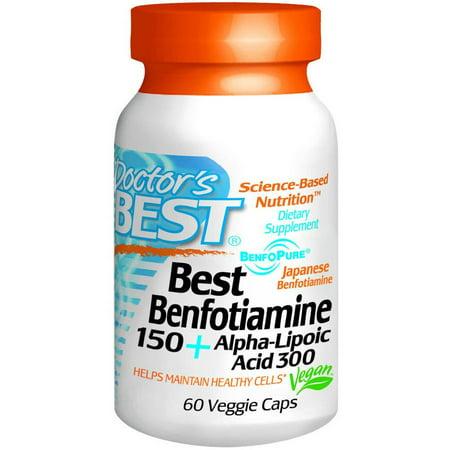 Doctors Best Benfotiamine   Alpha Lipoic Acid  60 Ct