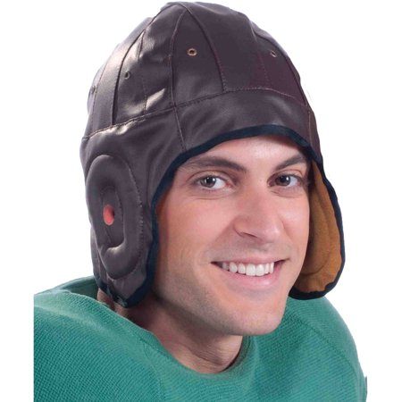 Vintage Football Helmet Adult Halloween Accessory