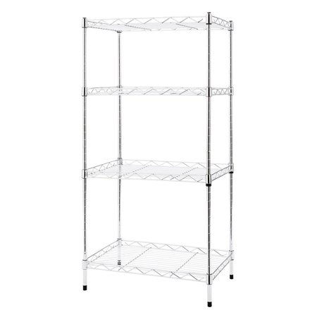 Buy-Hive 4-Tier Wire Shelving Home Kitchen Rack