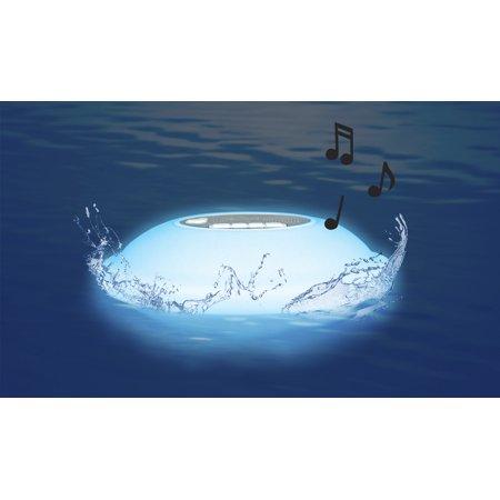 Poolmaster portable floating waterproof multi light - Waterproof speakers for swimming pools ...